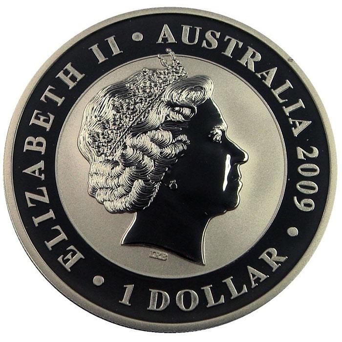 1 Oz Silver 2009 Australian Koala Coin Reverse