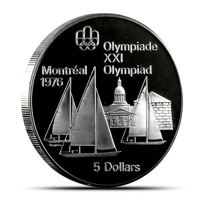 Canadian $5.00 Silver Proof Olympic Coin