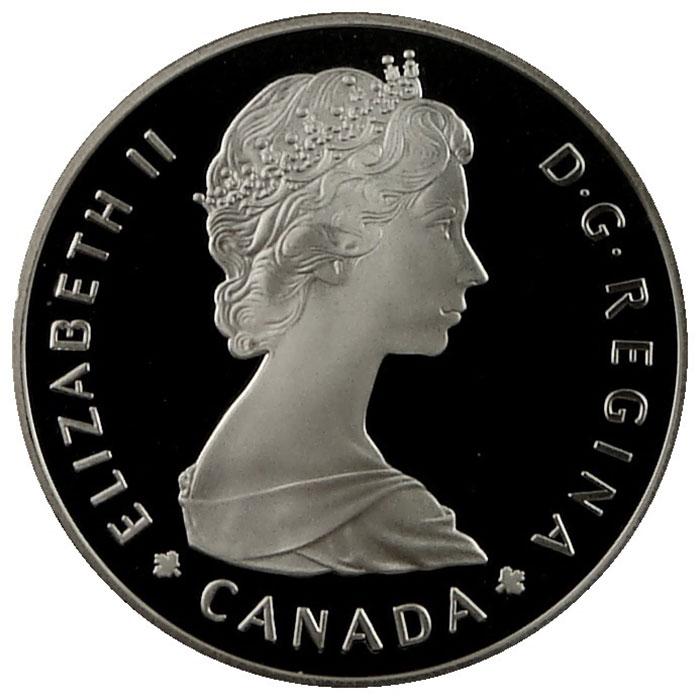 1971-1987 Canada Silver Dollar Obverse