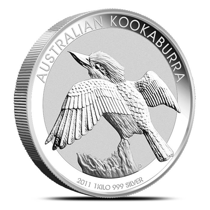 2011 Australian Kilo Silver Kookaburra