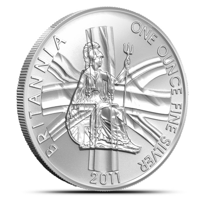 2011 1 oz Silver Britannia