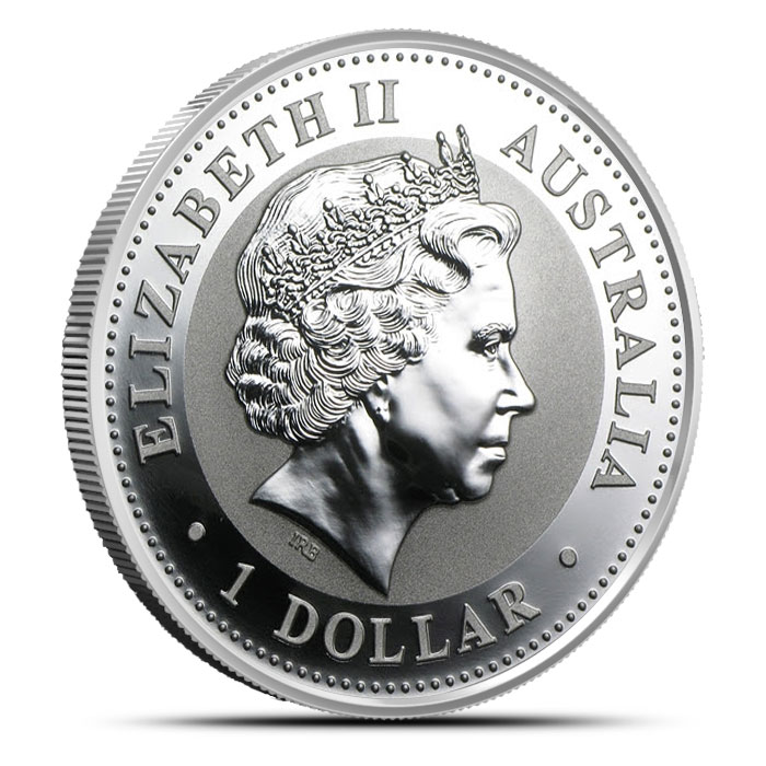 2003 Australian Kookaburra | 1 oz .999 Fine Silver Coin Reverse