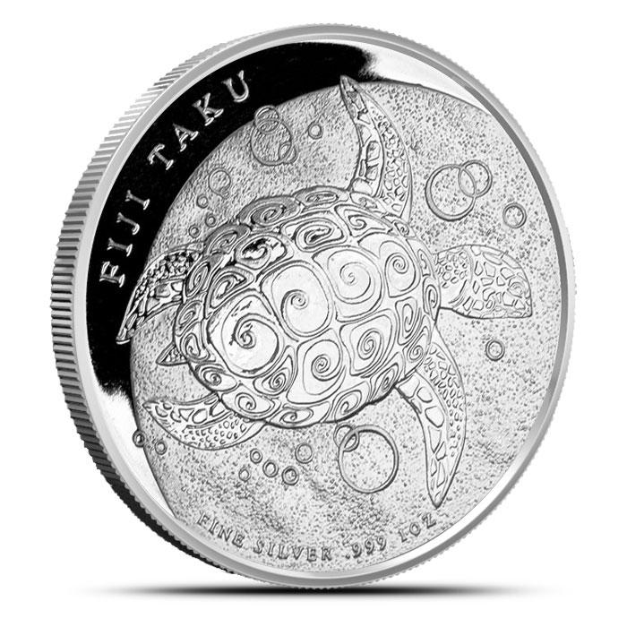 2012 Fiji Taku 1 oz Silver Obverse
