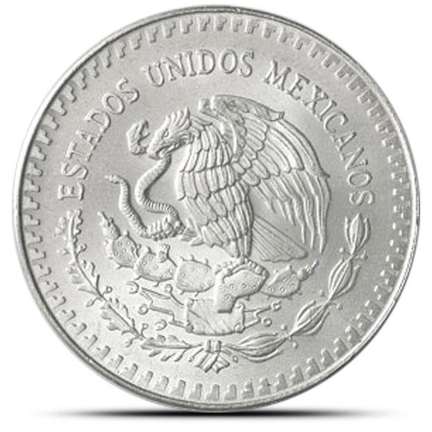 1987 Mexican Silver Libertad 1 oz Coin Reverse