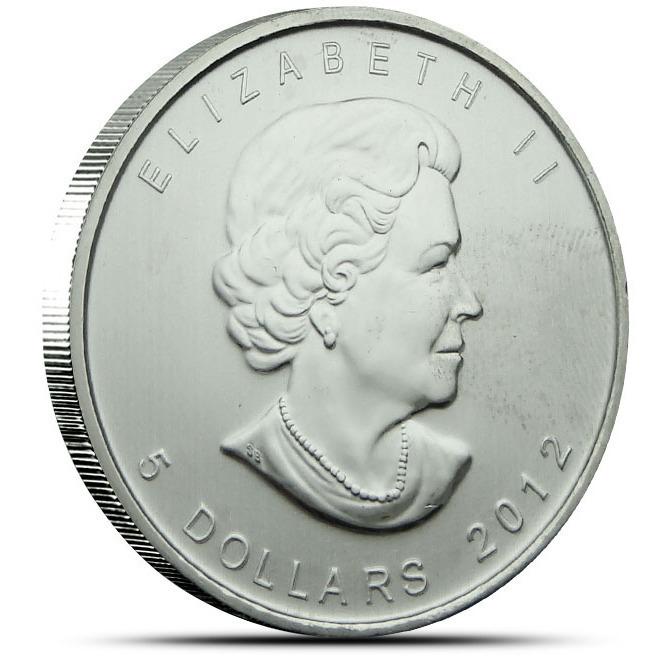 2012 1 oz Canadian Cougar Reverse