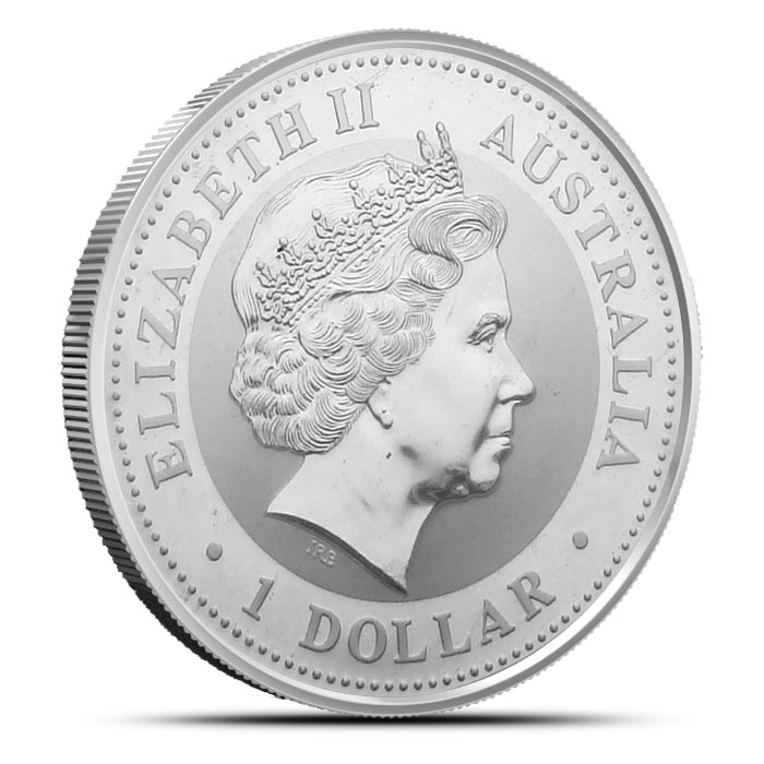 2000 1 ounce Silver Australian Kookaburra