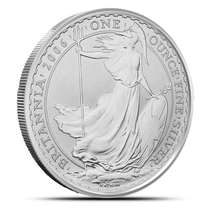 2006 1 oz Silver Britannia