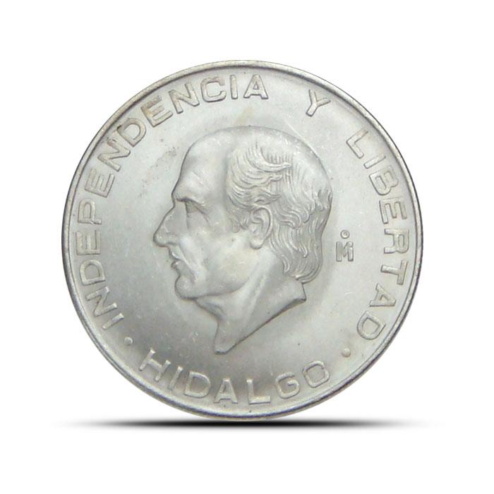Mexican 5 Pesos Silver Coin | Hidalgo 1955-1957