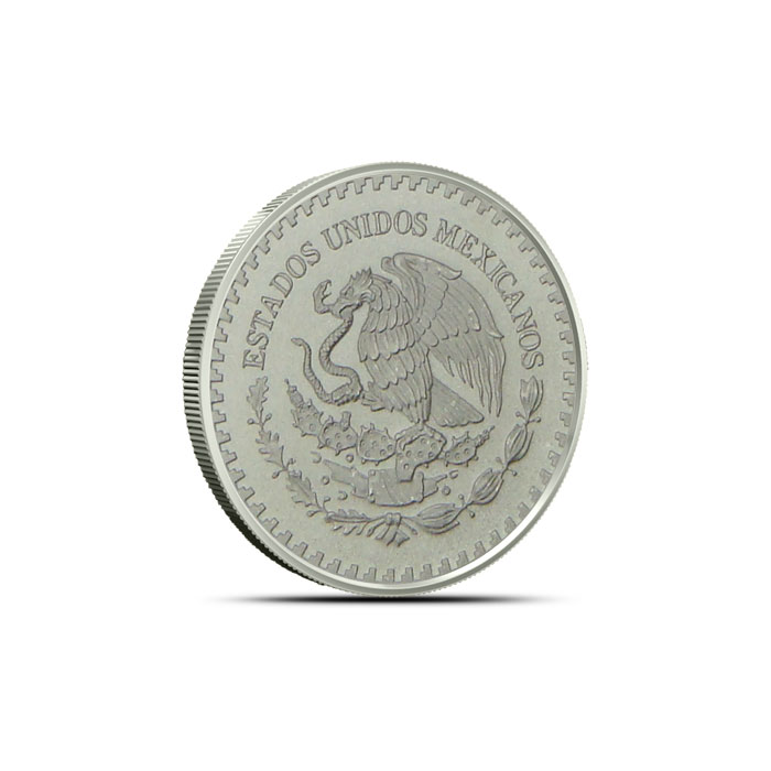 2013 Tenth Ounce Mexican Silver Libertad Reverse