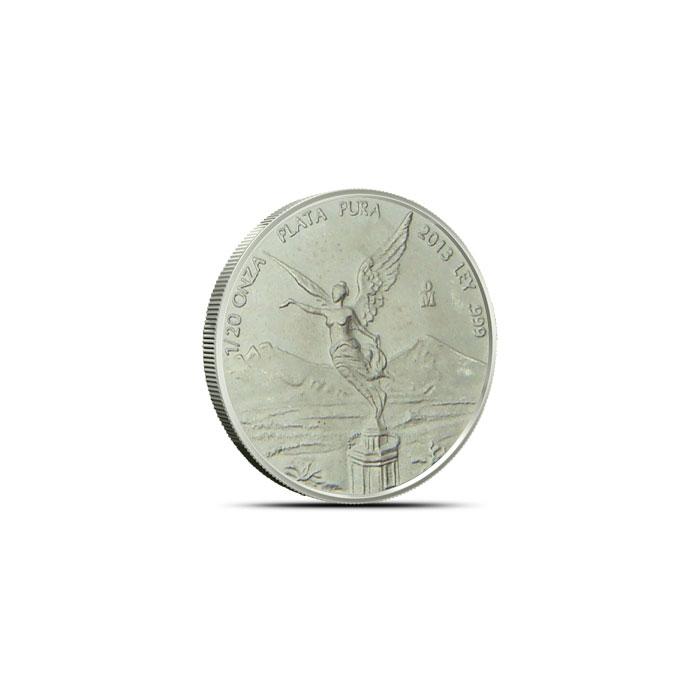 2013 1/20 oz Silver Mexican Libertad Obverse