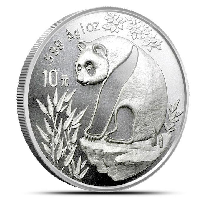 1993 1 ounce Silver Chinese Panda