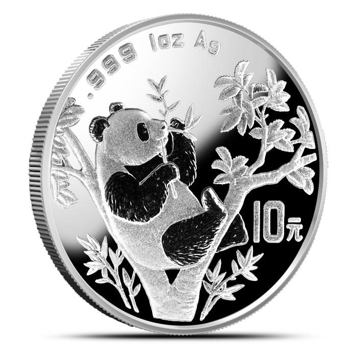 1995 1 oz Chinese Silver Panda