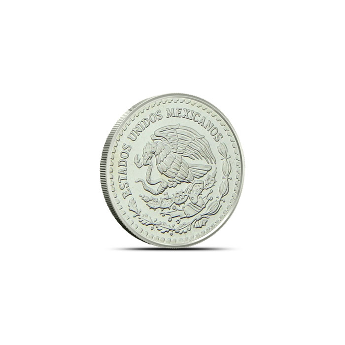 2002 1/20 ounce Silver Mexican Libertad Reverse