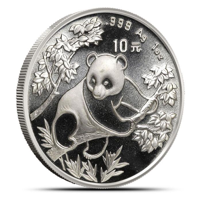 1992 1 oz Chinese Silver Panda
