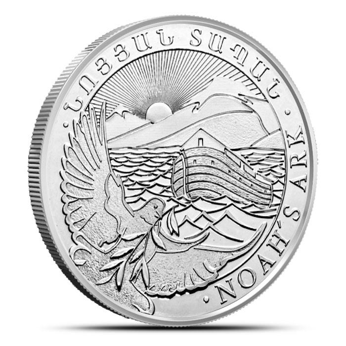2013 Armenia 1 oz Silver Noah