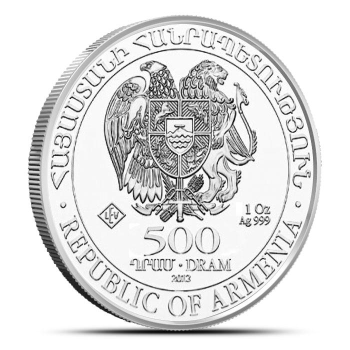 2013 Armenia 1 ounce Silver Noah