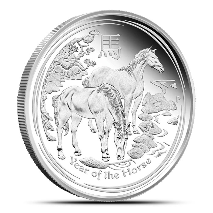2014 Kilo Silver Australian Year of the Horse Coin | Perth Mint