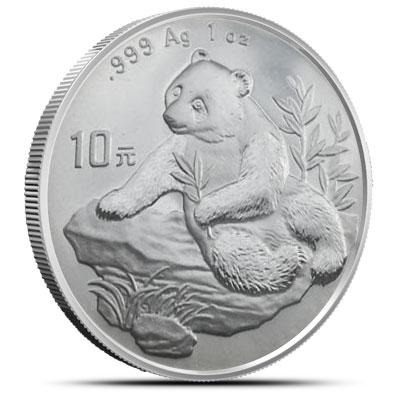 1998 1 oz Chinese Silver Panda