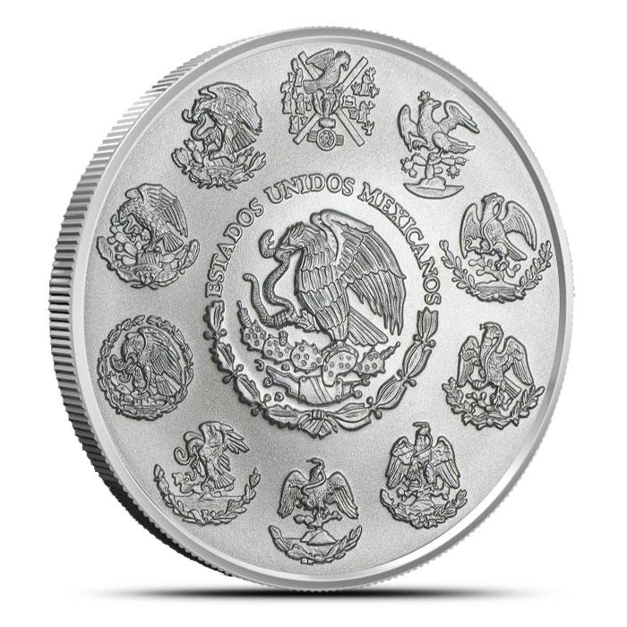 2014 Mexican Silver Libertad 2 oz Coin Reverse