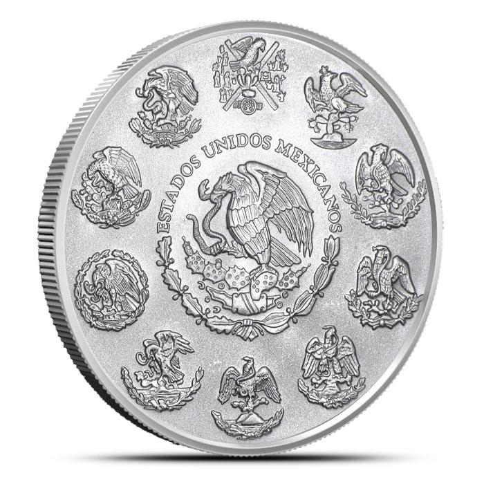 2014 Mexican Silver Libertad 1 oz Coin Reverse