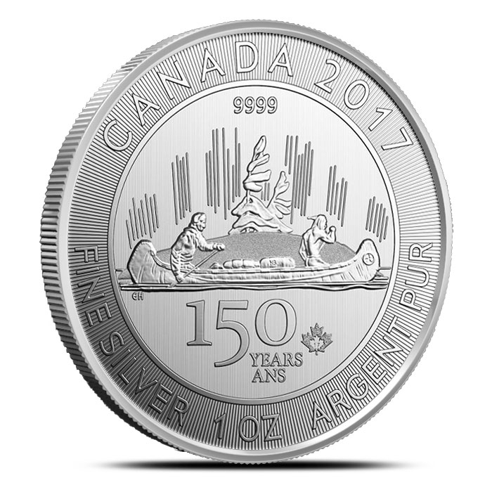 2017 Canadian Voyager Silver Coin