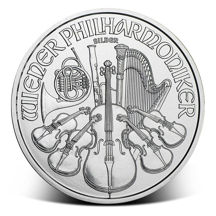 2018 Silver Philharmonic Coin