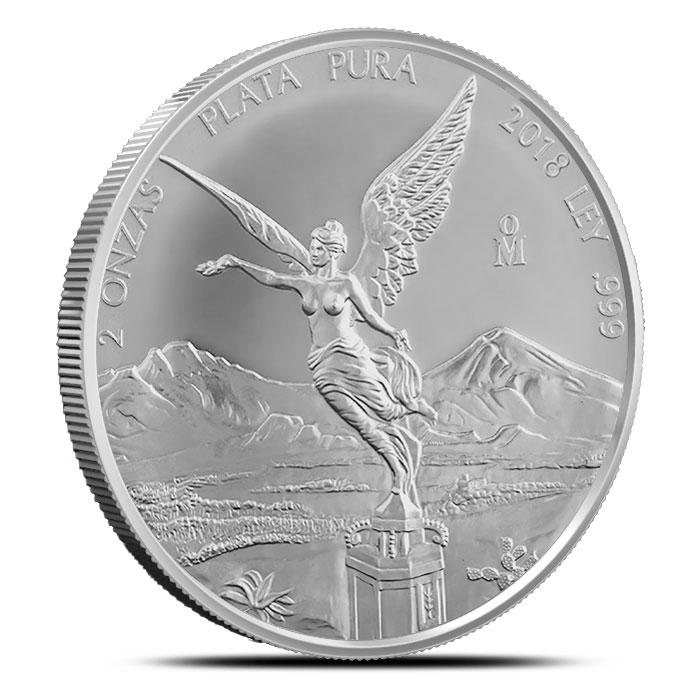 2018 Mexico 2 oz Silver Libertad