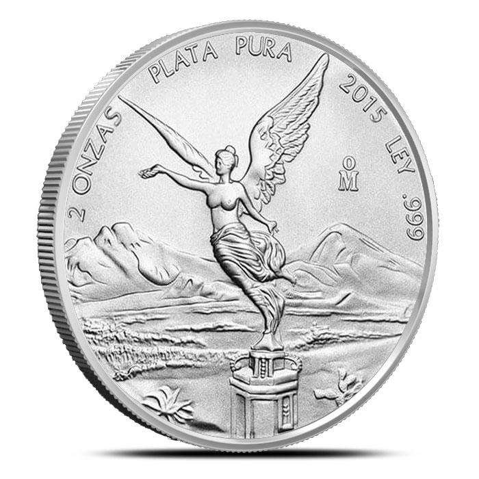 2015 2 oz Mexican Silver Libertad