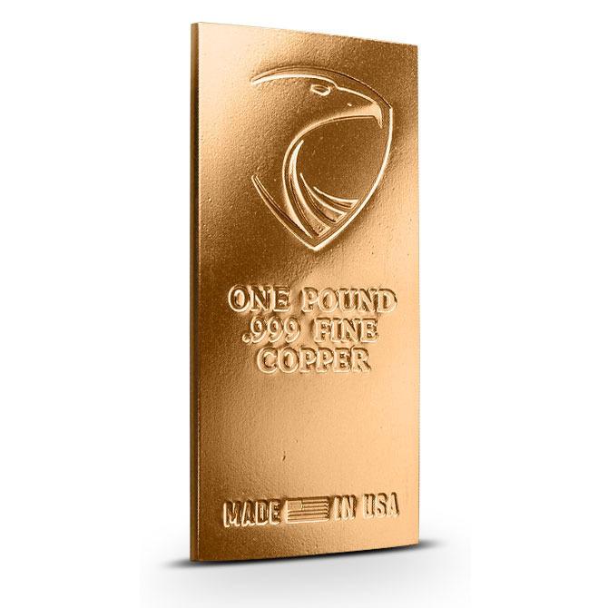 Aegis Eagle 1 Pound Copper Bar