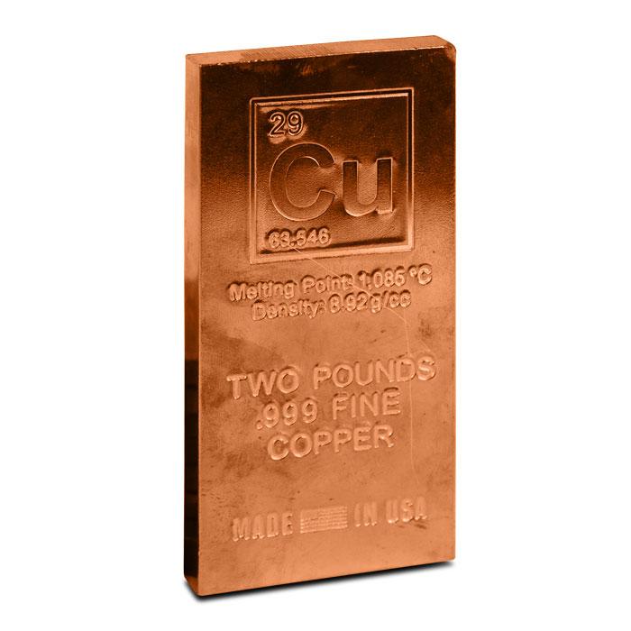 2 Pound .999 Fine Copper | Our Choice