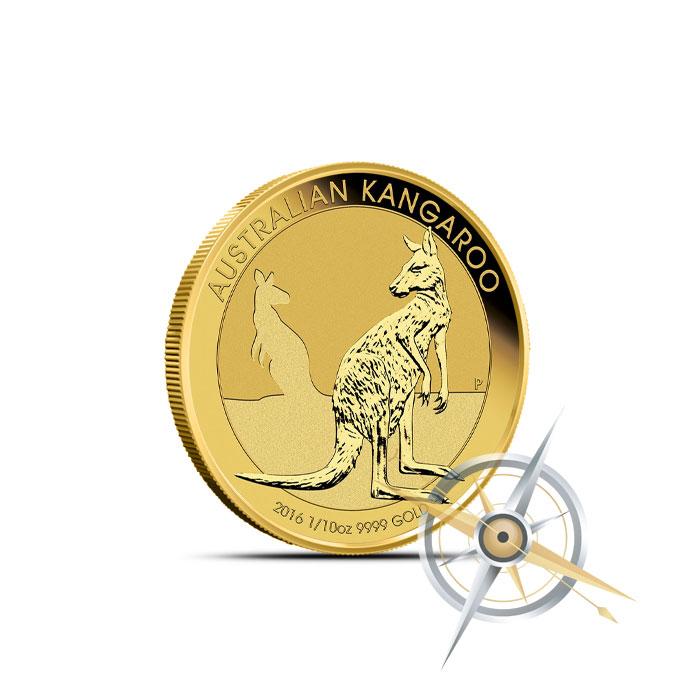 2016 1/10 oz Australian Gold Kangaroo