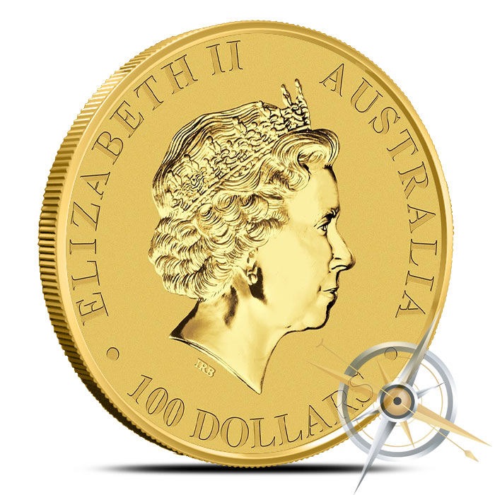 2016 one ounce Australian Gold Kangaroo