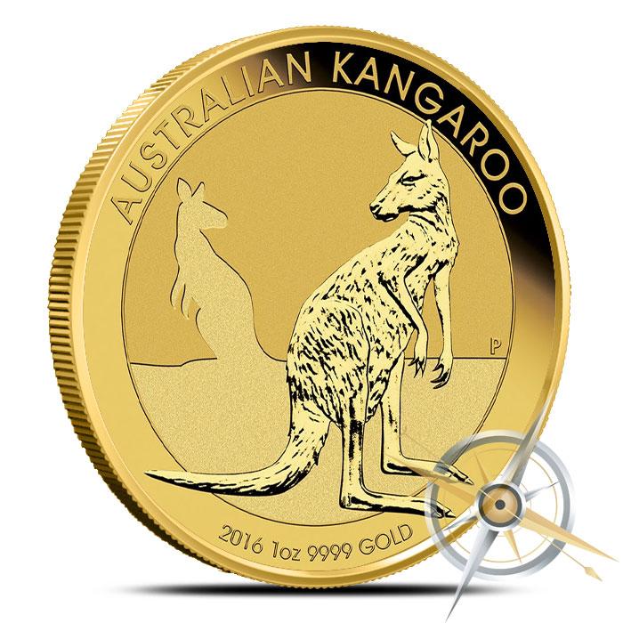 2016 1 oz Australian Gold Kangaroo