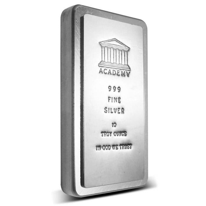 Academy Stackable 10 oz Silver Bar