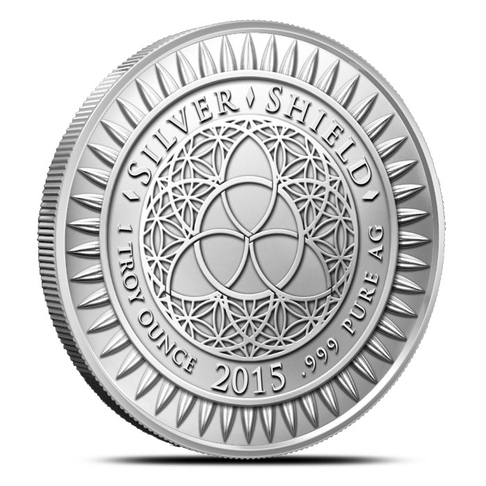2015 Freedom Girl 1 ounce Silver Round