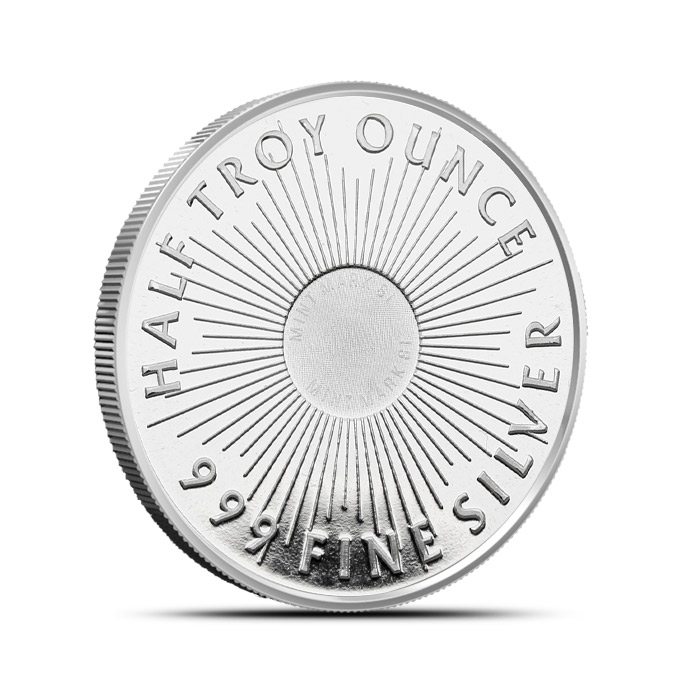 Half ounce Sunshine Silver Round