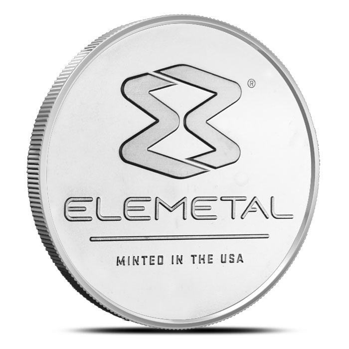 Elemetal 1 oz Silver Round