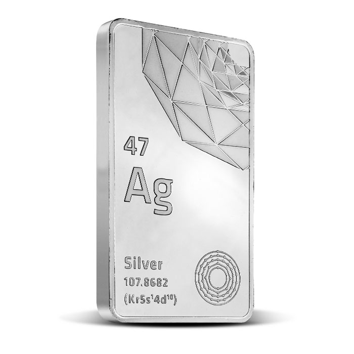 10 oz Silver Bar | Elemetal Mint