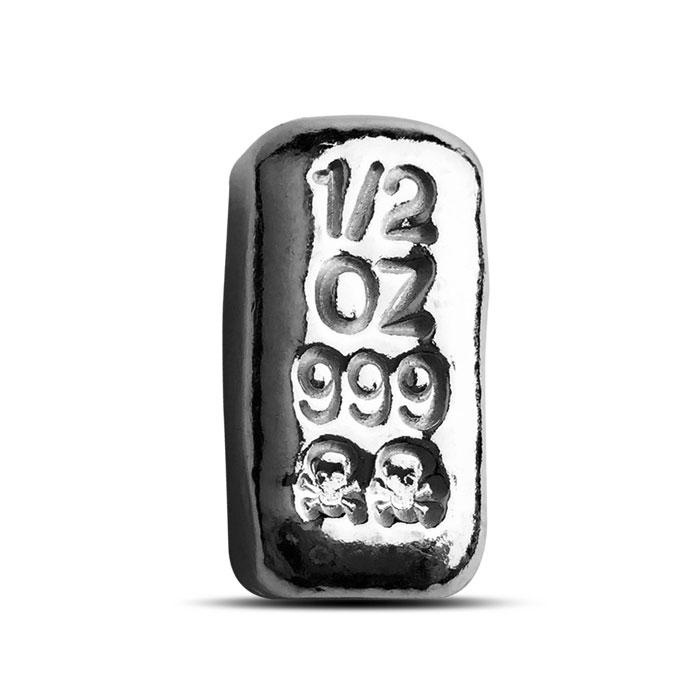 1/2 oz Atlantis Mint Hand Poured Silver Bar