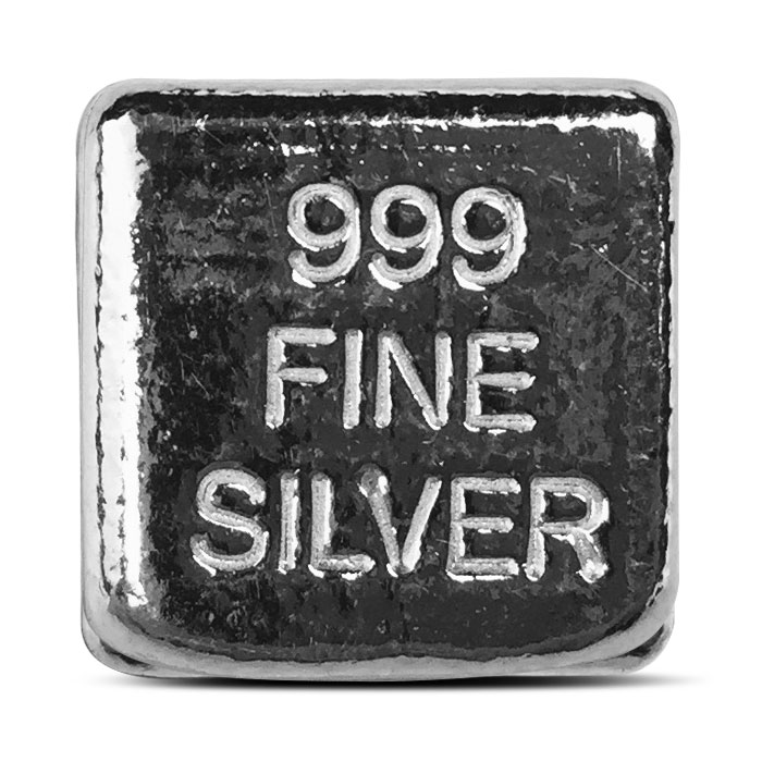 Yeager two ounce Silver Cube