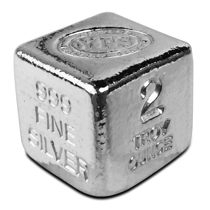 Yeager 2 oz Silver Cube