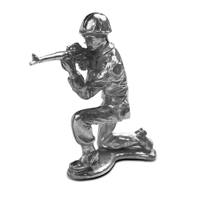Rifleman Silver Soldier | 1 oz .999 Fine Silver