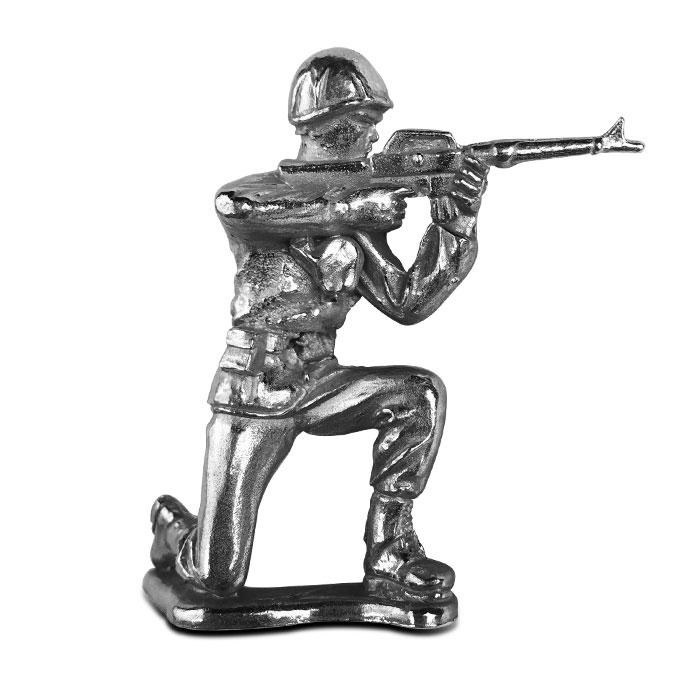 Rifleman Silver Soldier | Silver Army Man