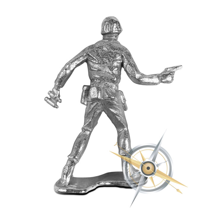 Sarge Silver Soldier | Silver Soldier Bullion