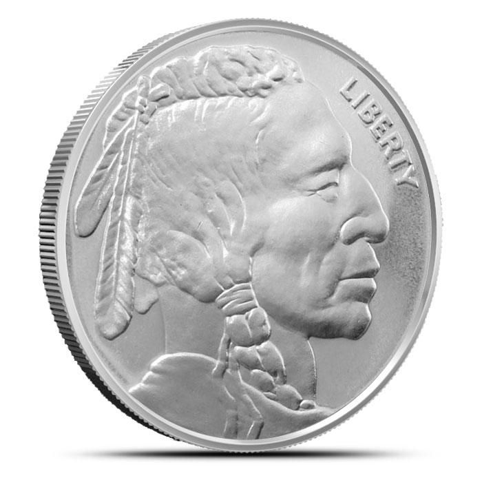NTR Buffalo 1 oz Silver Round