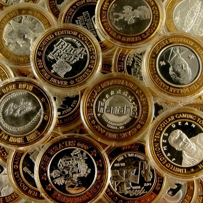 $10 Casino Gaming Tokens