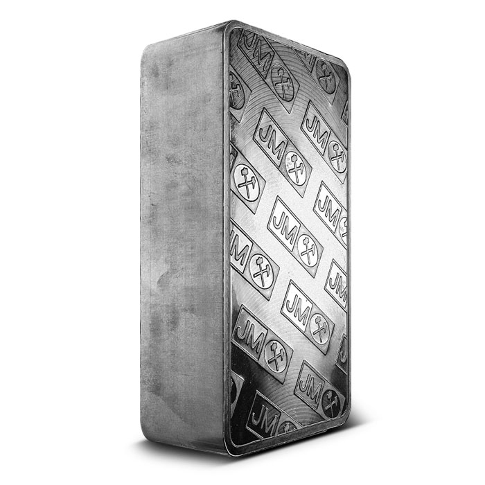 Johnson Matthey Extruded Silver Bar Reverse
