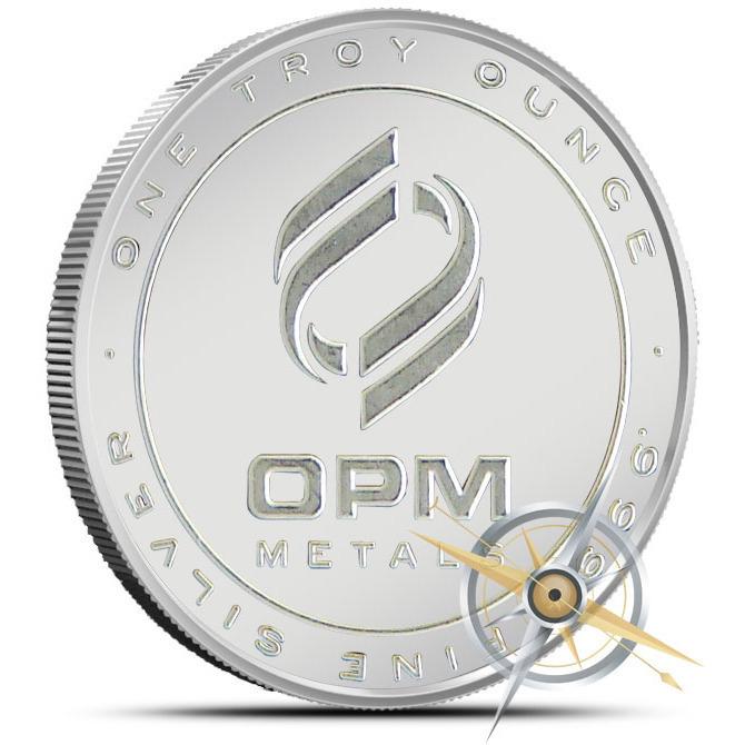 OPM 1 oz Silver Round