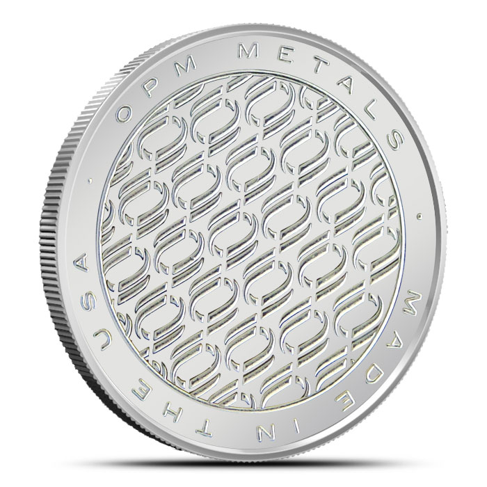 OPM Monster Box   500-1 oz Silver Coins Reverse