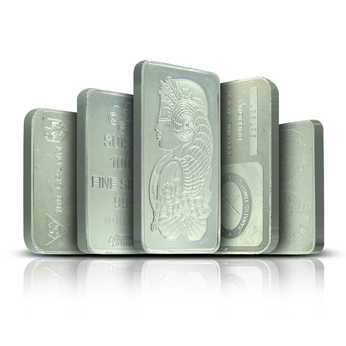 100 Gram Silver Bars | Our Choice